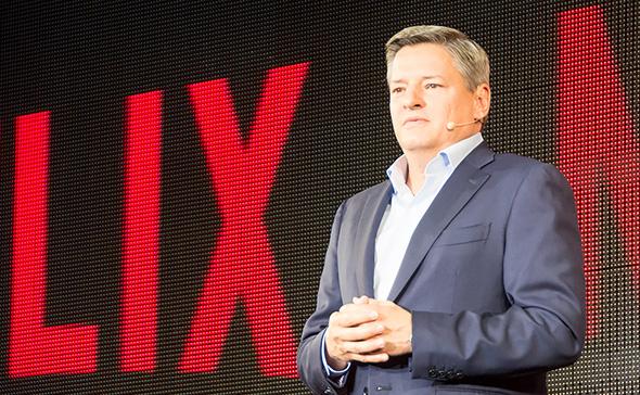 Netflixのテッド・サランドスCCO