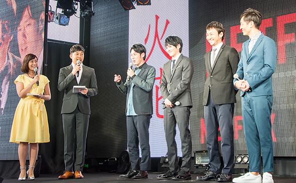Netflixオリジナルドラマ「火花」キャスト陣