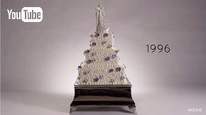 ウェディングケーキ 100年 動画