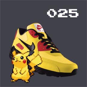 NIKEiD ポケモン シューズ 靴 PokeiD