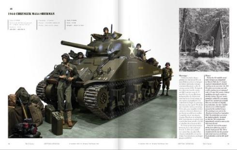 出品されている「1944 CHRYSLER M4A4 SHERMAN」
