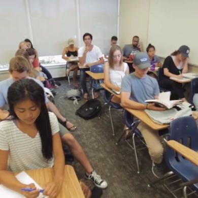授業 居眠り サボり 方法 写真