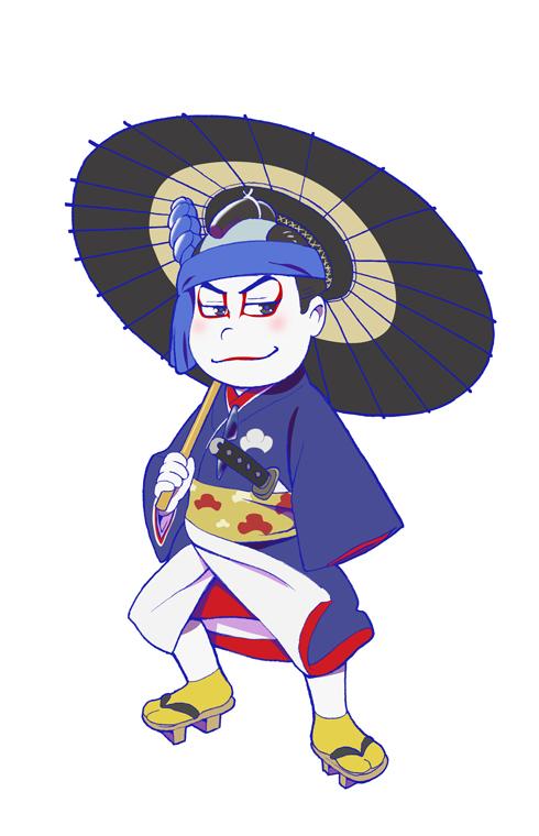 「おそ松さん×歌舞伎」 カラ松 花川戸助六