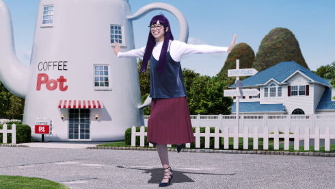 ジーユーCM「アラレがスカート!?」篇