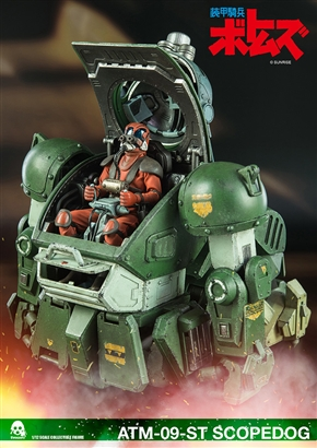 「装甲騎兵ボトムズ」スコープドッグが超絶クオリティーのアクションフィギュアに