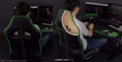 ゲーミング座椅子 昇降式ローデスク ゲーマー