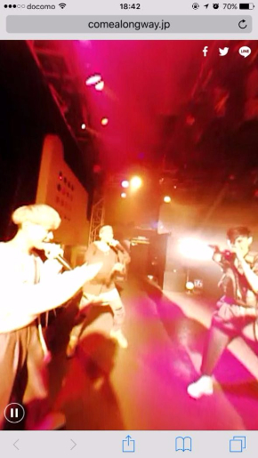 FlowBack ミュージックビデオ MV 歩きスマホ