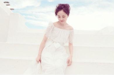 ウエディングドレス姿の百田夏菜子さん