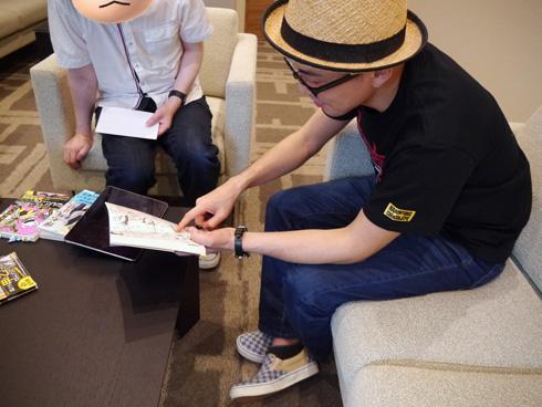 つまさきおとしと私、ツナミノユウ先生インタビュー