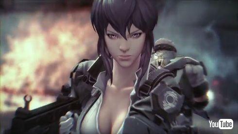 「攻殻機動隊S.A.C. ONLINE」 ティーザーPV ゲーム中 草薙素子