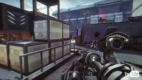 「攻殻機動隊S.A.C. ONLINE」 ティーザーPV ゲーム中 バトー 一人称視点