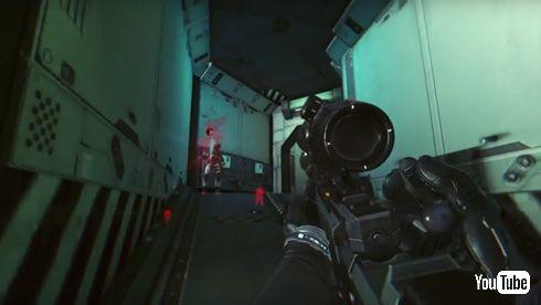 「攻殻機動隊S.A.C. ONLINE」 ティーザーPV ゲーム中 サイトー 一人称視点