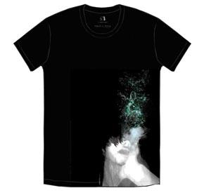 TK from 凛として時雨 石田スイ TK × SUI T-shirt ブラック