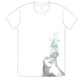 TK from 凛として時雨 石田スイ TK × SUI T-shirt ホワイト