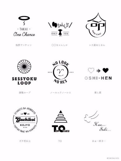 アイドルオタク ロゴ Twitter