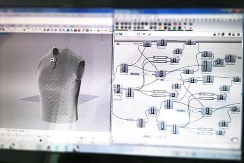 3Dプリントニット「AMIMONO」