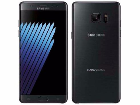 Galaxy Note7端末画像
