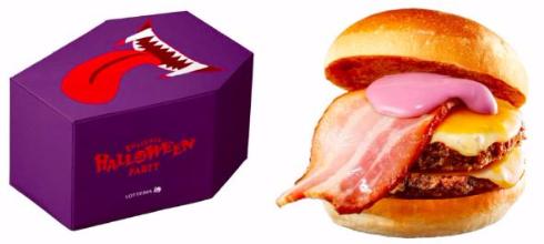 紫魔術のベーコンW 絶品チーズバーガーBOX