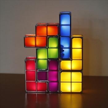 カラフルLED内蔵ブロックライト