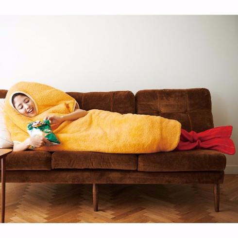 エビフライ 寝袋 フェリシモ