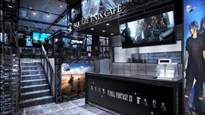 スクウェア・エニックス カフェ 店内イメージ エントランス