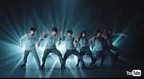 田野優花さんのダイナミックなダンス