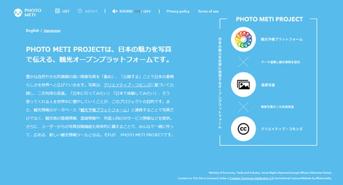 「PHOTO METI PROJECT」アバウト