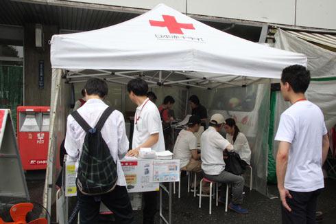 「サンキュー!未祐ちゃん」献血バス