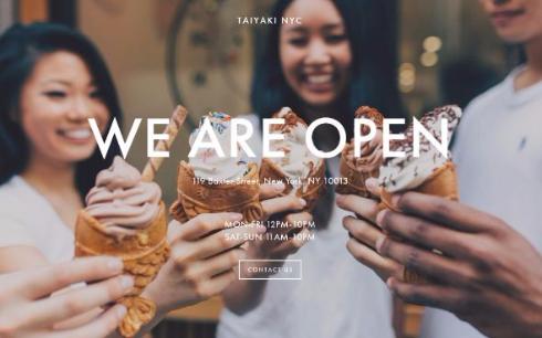 たい焼き アイス TAIYAKI NYC アメリカ