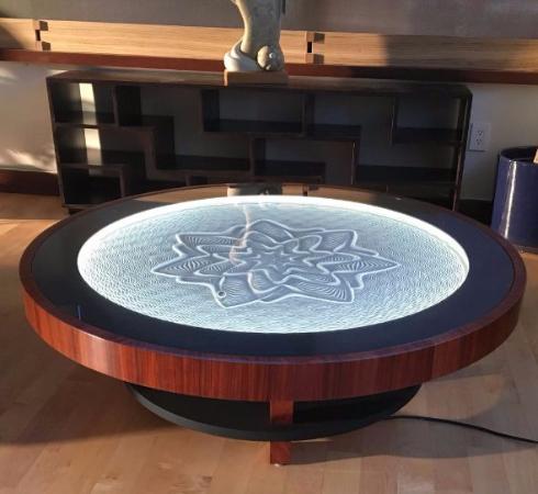 禅に通じる趣のある雰囲気 ボールが転がって砂に模様を描いていくテーブルがクラウドファンディングで登場 ねとらぼ