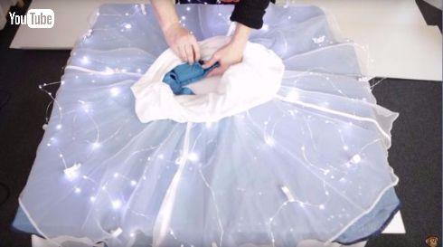 光るスカート ThinkGeek 星 LED