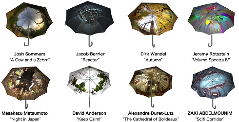 PANORELLA 全天球写真 傘