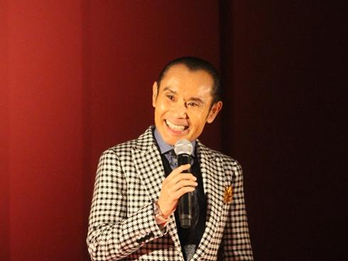 「インフェルノ」別イベントの片岡鶴太郎さん