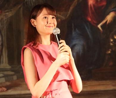 「インフェルノ」特別イベントのトリンドル玲奈さん