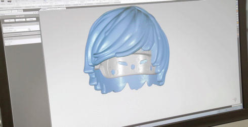 レゴヘルメット3D