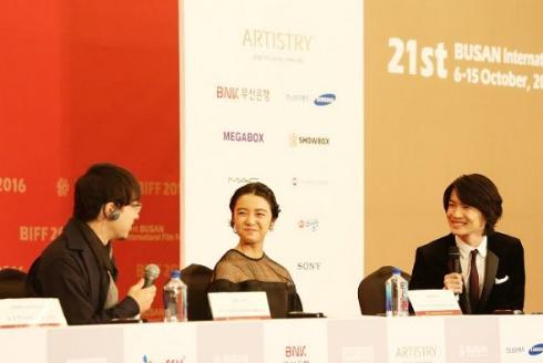 「君の名は。」釜山国際映画祭記者会見
