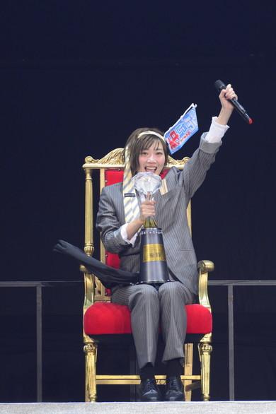 第7回「AKB48グループ ユニットシングル争奪じゃんけん大会」で田名部生来さん
