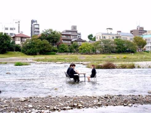 鴨川 面接 就職 京都