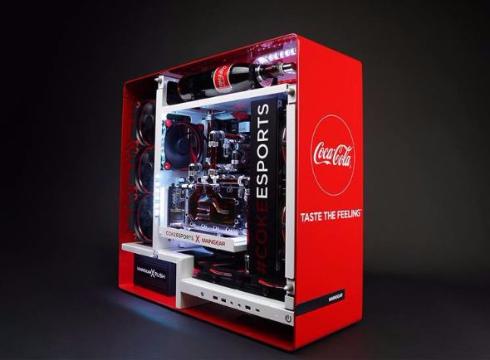 カスタムPC コーラ 液冷 パソコン