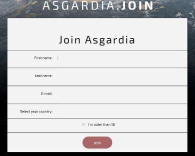 アスガルディア国民登録