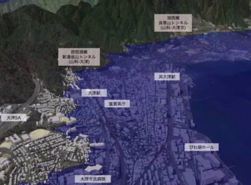 滋賀県 琵琶湖 水止めたろか 自滅 シミュレーション