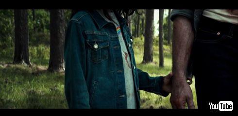 ローガン ウルヴァリン 手を握る
