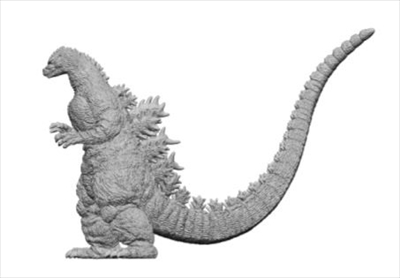 Human Sizeフィギュア・ゴジラ北海道ver