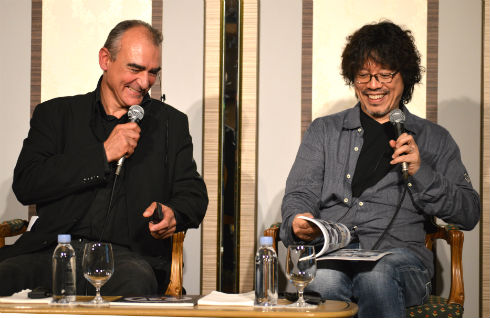 浦沢直樹さんとフィリップ・フランクさん