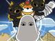 エジプト神・メジェド様が主人公のショートアニメが誕生! あのシーツかぶったみたいなやつ