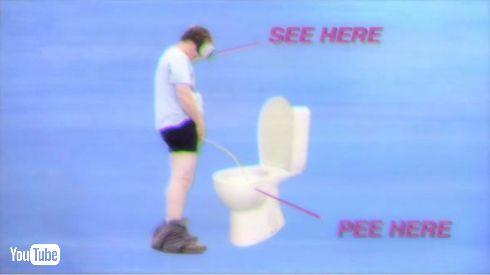 Pee World VR アプリ Google Play 排尿 おしっこ 世界 どこでも