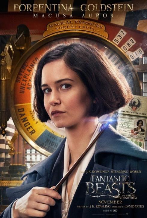 「ファンタスティック・ビーストと魔法使いの旅」ティナ・ゴールドスタイン