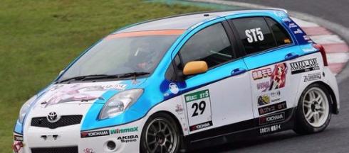 結月ゆかり レーシング ボーカロイド 痛車 レース クラウドファンディング