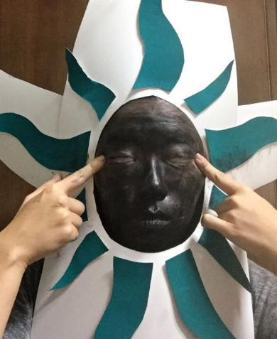黒い太陽コスプレ