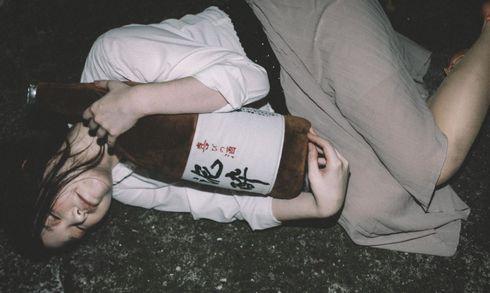 一升瓶抱きまくら